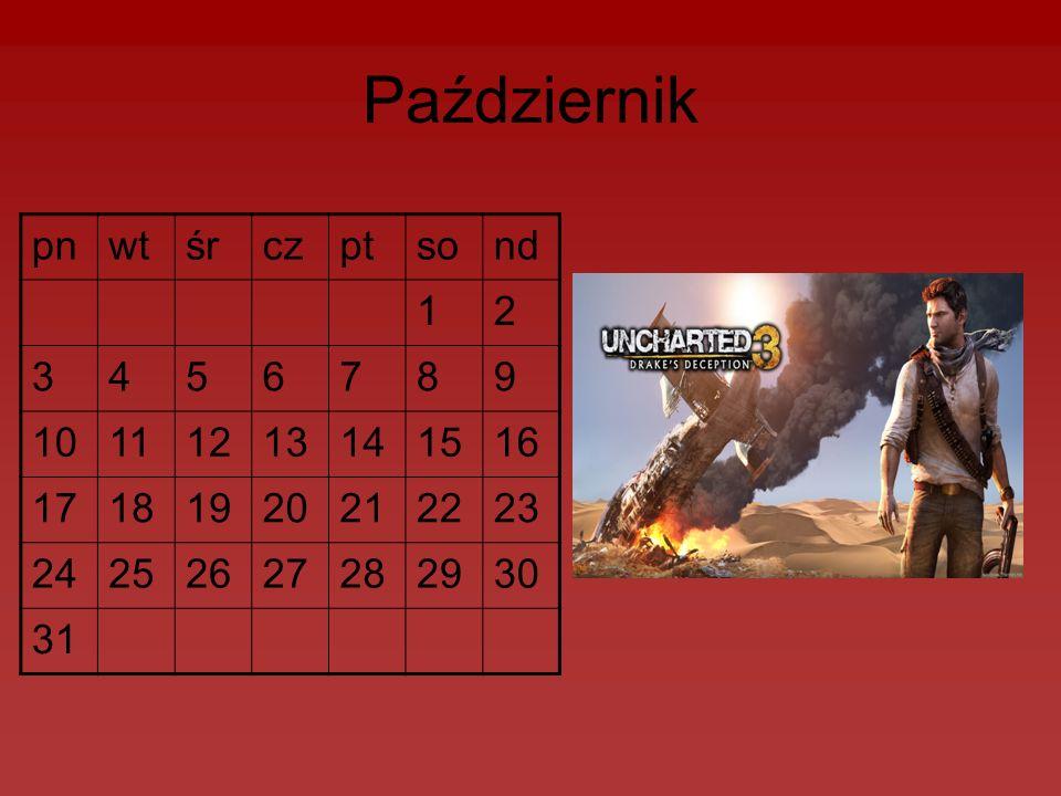 Październik pnwtśrczptsond 12 3456789 10111213141516 17181920212223 24252627282930 31