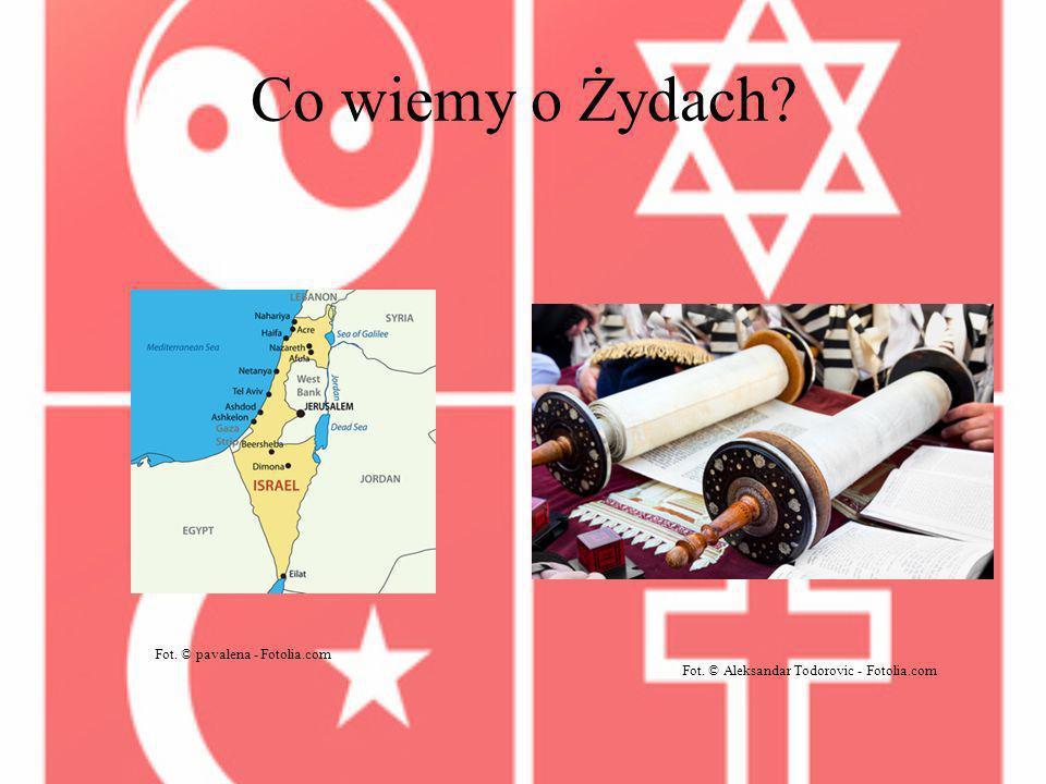 Co wiemy o Żydach? Fot. © pavalena - Fotolia.com Fot. © Aleksandar Todorovic - Fotolia.com