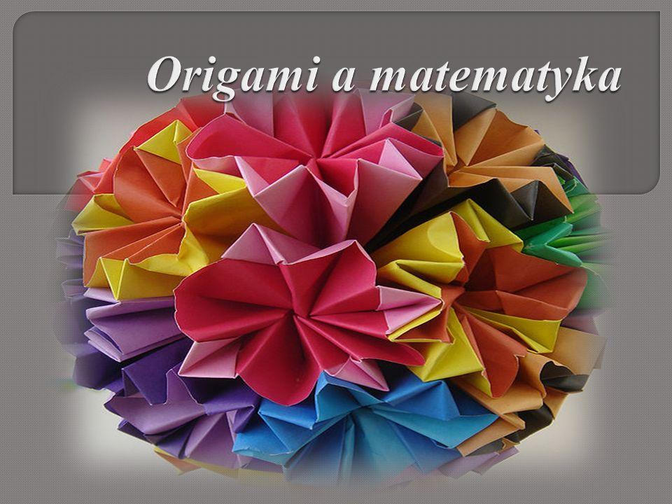 Origami to japońska sztuka składania papieru znana już od najdawniejszych czasów.