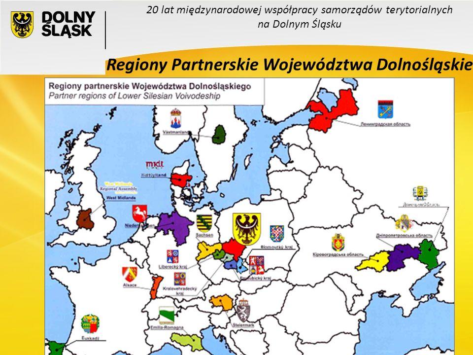 7 20 lat międzynarodowej współpracy samorządów terytorialnych na Dolnym Śląsku Regiony Partnerskie Województwa Dolnośląskiego