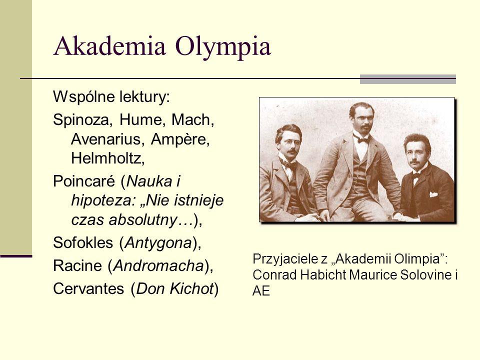 List AE do Solovinea 1953: Nieśmiertelna Akademio Olimpii.