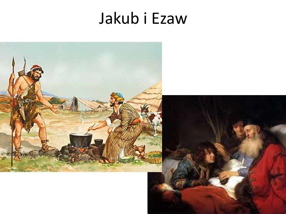 Jakub i Ezaw