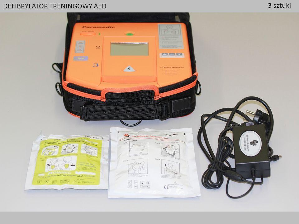 DEFIBRYLATOR TRENINGOWY AED 3 sztuki