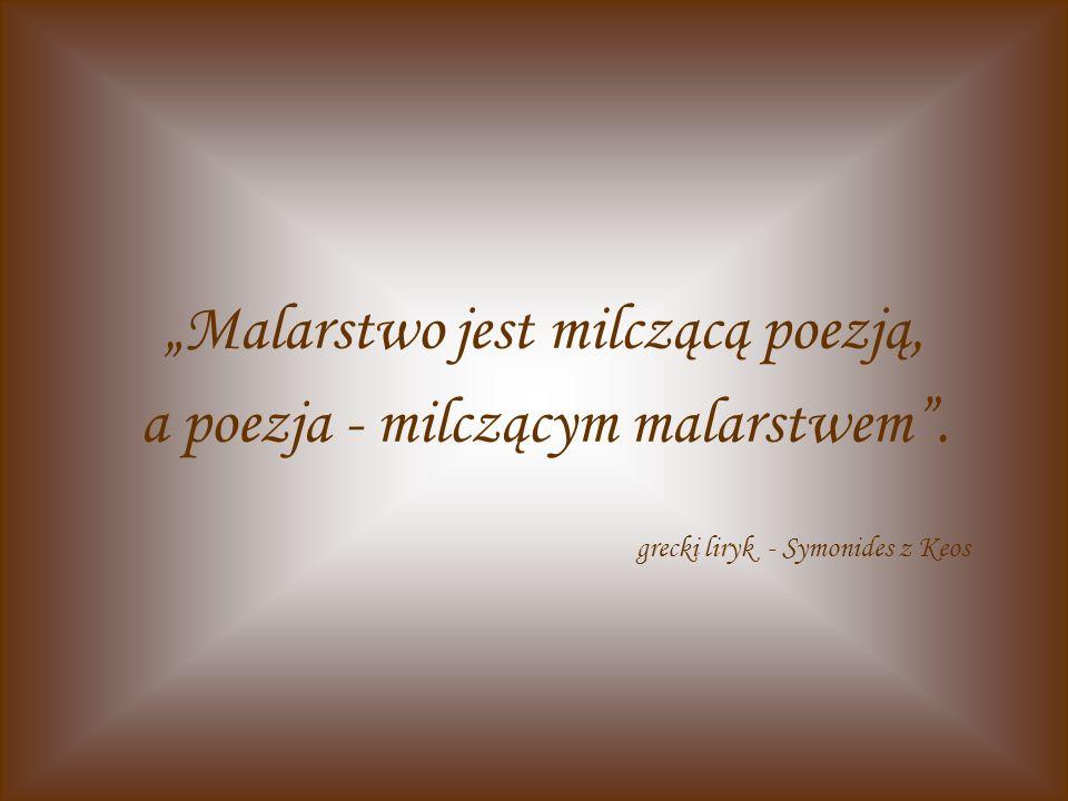 Każda z Muz w swojej pieczy inną ma dziedzinę: Klio – historię, Euterpe – nad muzyką czuwa, Talia – komedię wspiera, dramat – Melpomena, Zaś poezję liryczną Erato piastuje, Ody – to Polihymnia, Urania – nauki, Kalliope – poezją epiczną się trudzi, I tylko Terpsychora do tańca jedyna.