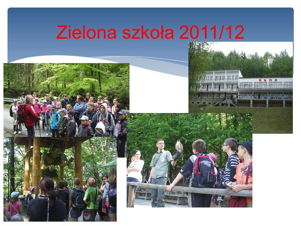Zielona szkoła 2011/12