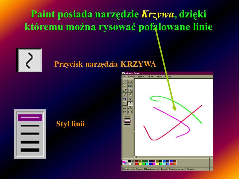 Aby narysować prostokąt lub kwadrat W przyborniku kliknij ten przycisk, aby utworzyć kształt o prostokątnych narożnikach......lub ten przycisk, aby ut
