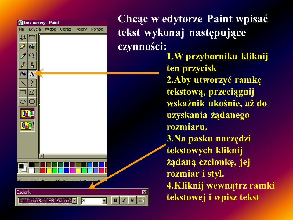 Aby dodać tekst do rysunku należy użyć narzędzia Tekst Dodając tekst można korzystać ze stylu z kolorem tła lub stylu przeźroczystego