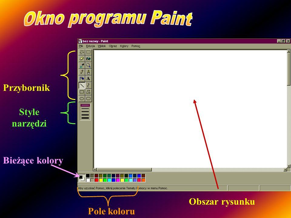 Prezentacja Edytor grafiki Paint składa się z 29 slajdów; przemieszczamy się pomiędzy nimi za pomocą spacji lub pojedynczego kliknięcia myszką. Opraco