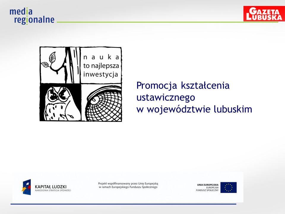 Promocja kształcenia ustawicznego w województwie lubuskim