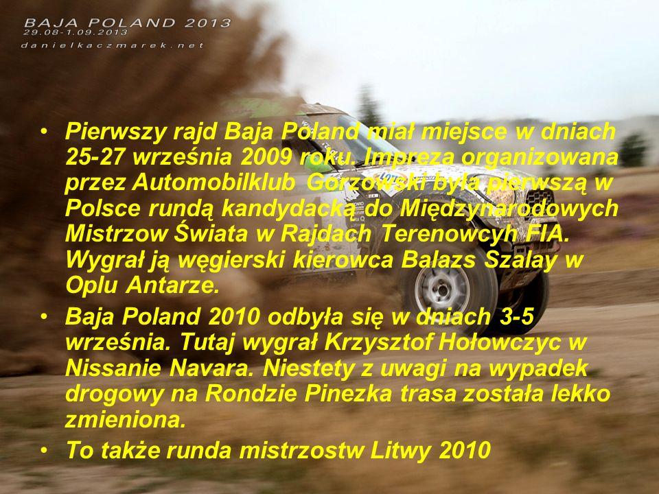 Baja Poland 2011 po raz pierwszy nie odbyła się przy ul.