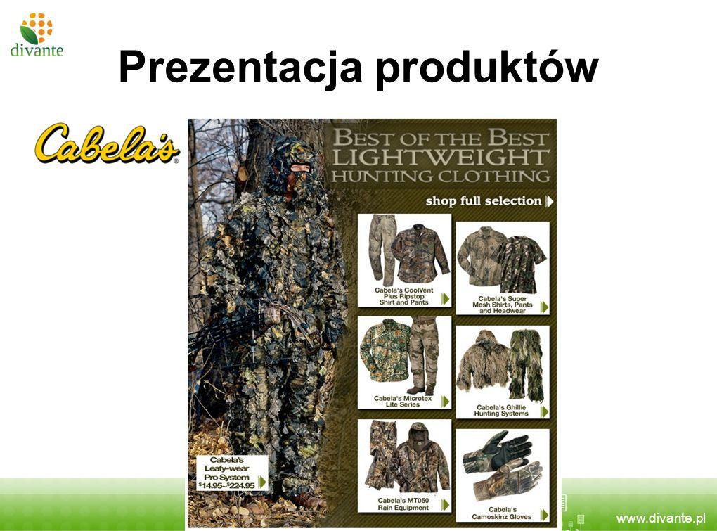 www.divante.pl Prezentacja produktów