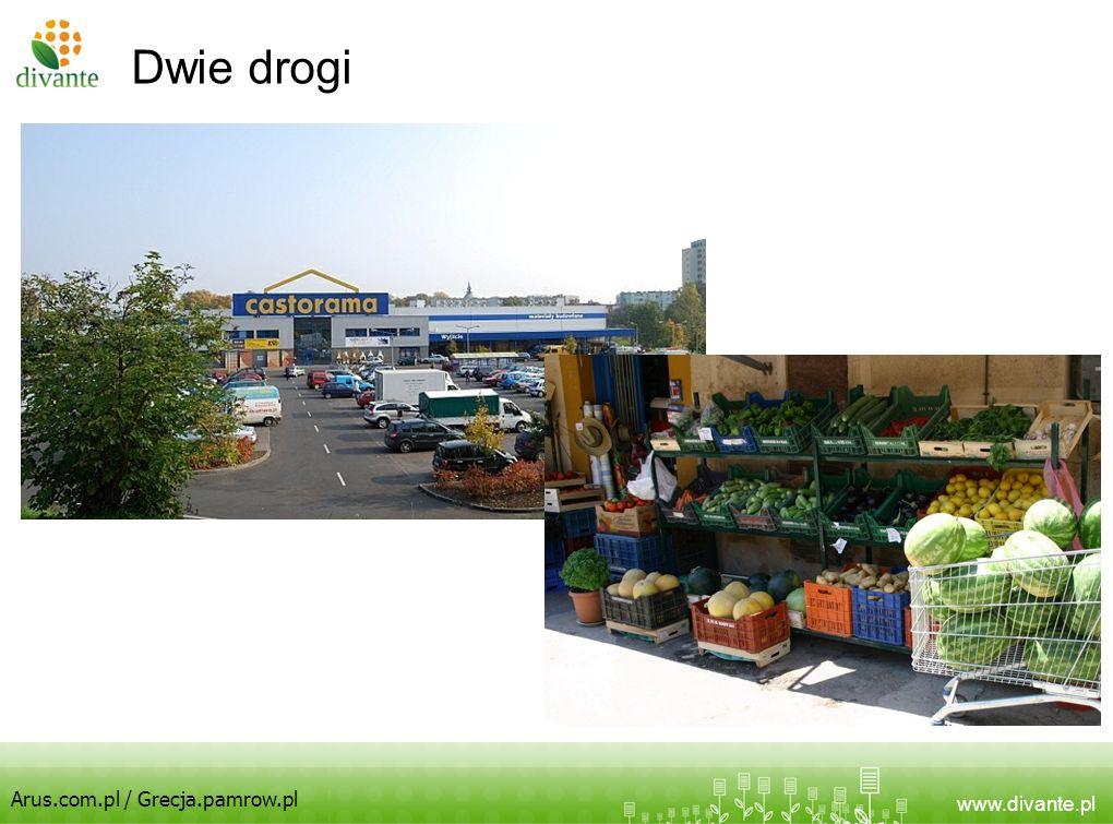 www.divante.pl Dwie drogi Arus.com.pl / Grecja.pamrow.pl