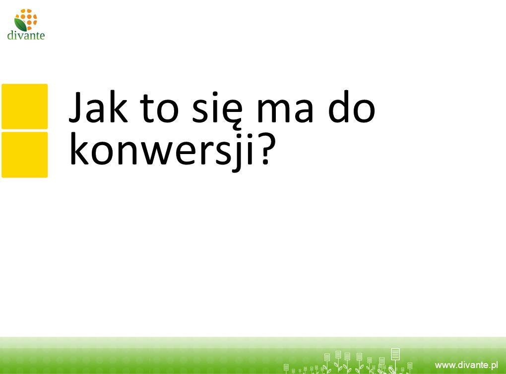 www.divante.pl Jak to się ma do konwersji?