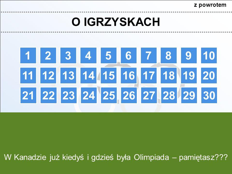 Ile lat czekała Polska na kolejny złoty medal ZIO?Na czym polega curling?Na czym polega skeleton?Co to jest panczenictwo?Gdzie i kiedy odbyły się pierwsze ZIO.