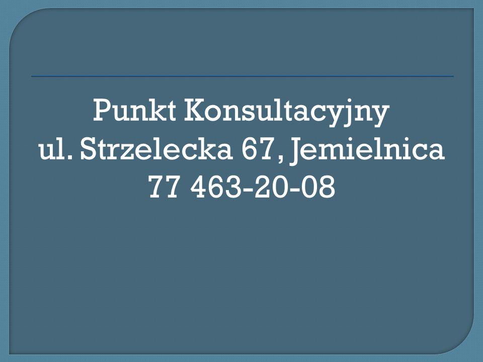 Poradnia Psychologiczno-Pedagogiczna Strzelce opolskie Ul. Chrobrego 5 Tel. 77/ 461 30 26