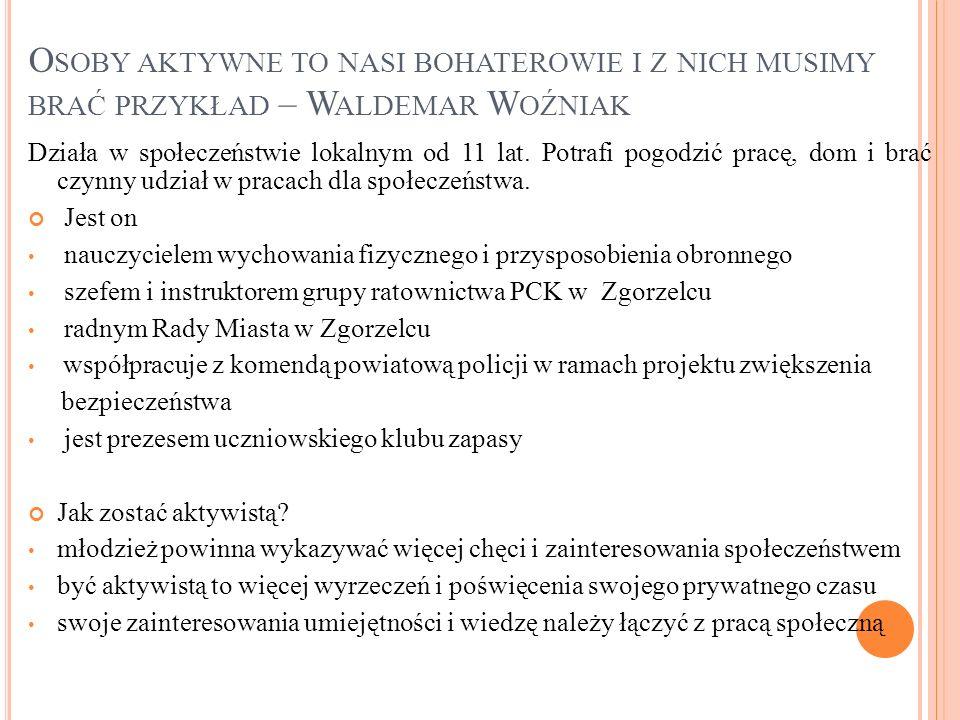 Prezentację wykonał Jakub Bystrowski kl. III e