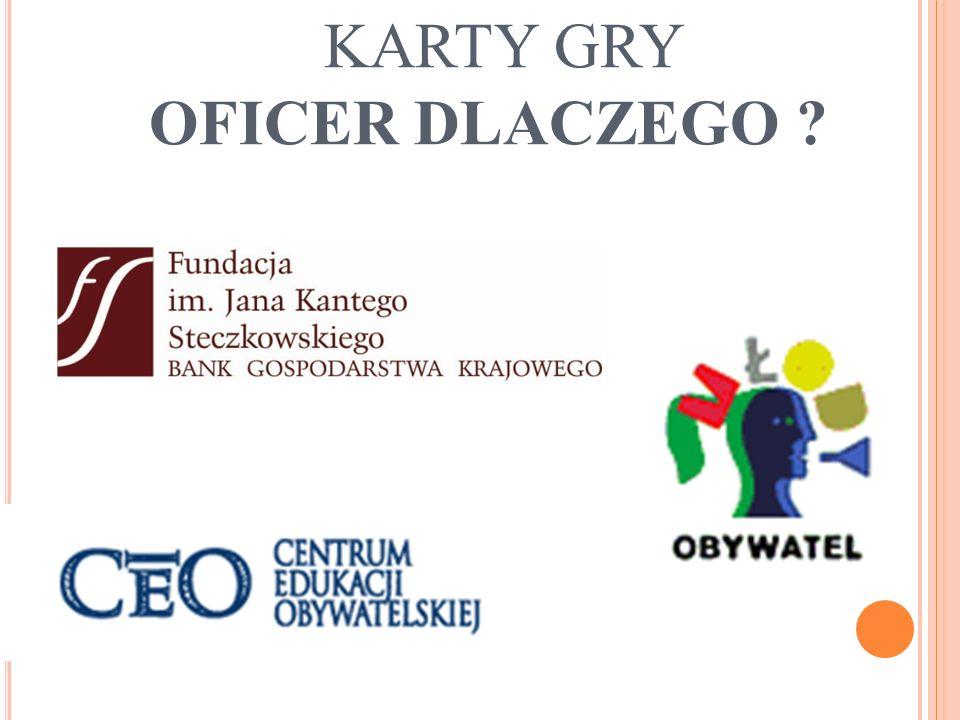 KARTY GRY OFICER DLACZEGO