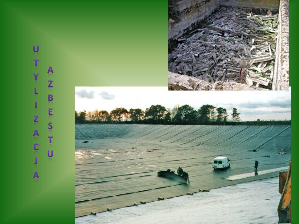 W Polsce jest ok.2 mld m2 pokryć dachowych z azbestu.