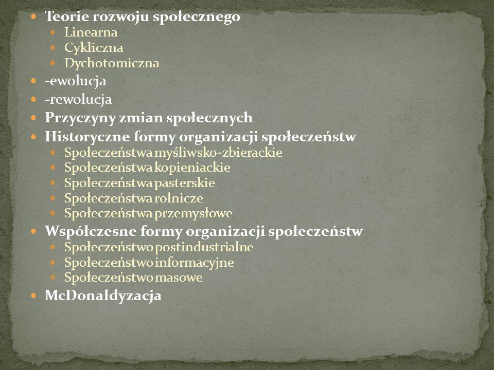 Społeczeństwa kopieniackie.Forma organizacyjna wypierająca społeczeństwa myśliwsko-zbierackie.