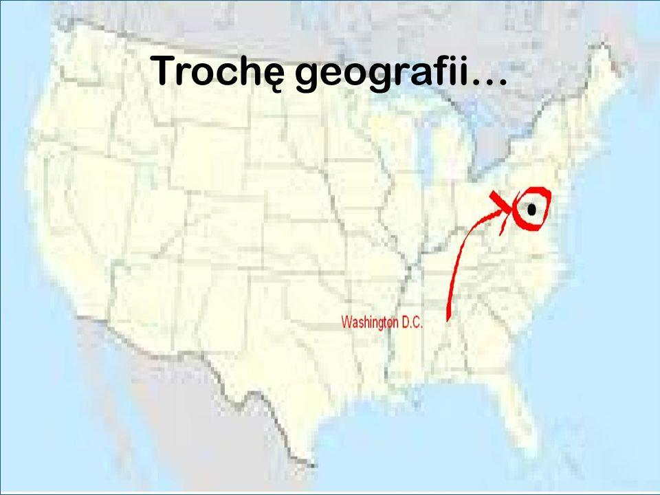 Troch ę geografii…