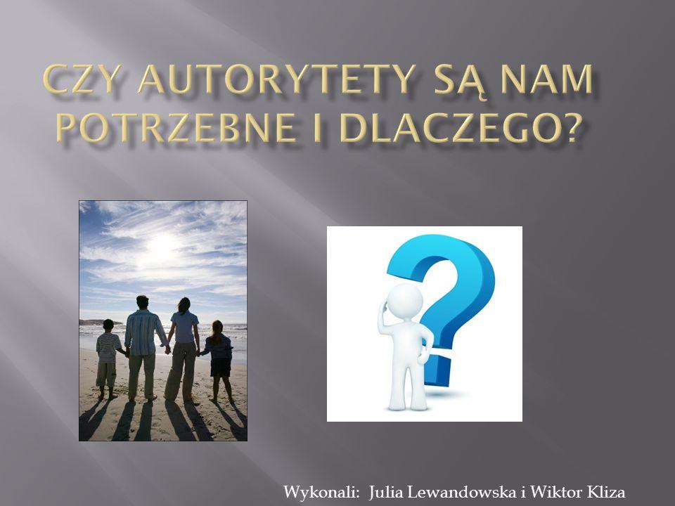 Słowo autorytet ma kilka znaczeń.