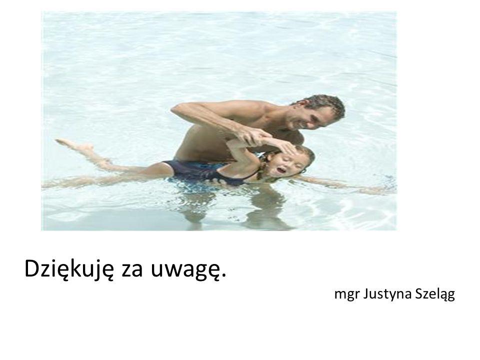 Dziękuję za uwagę. mgr Justyna Szeląg