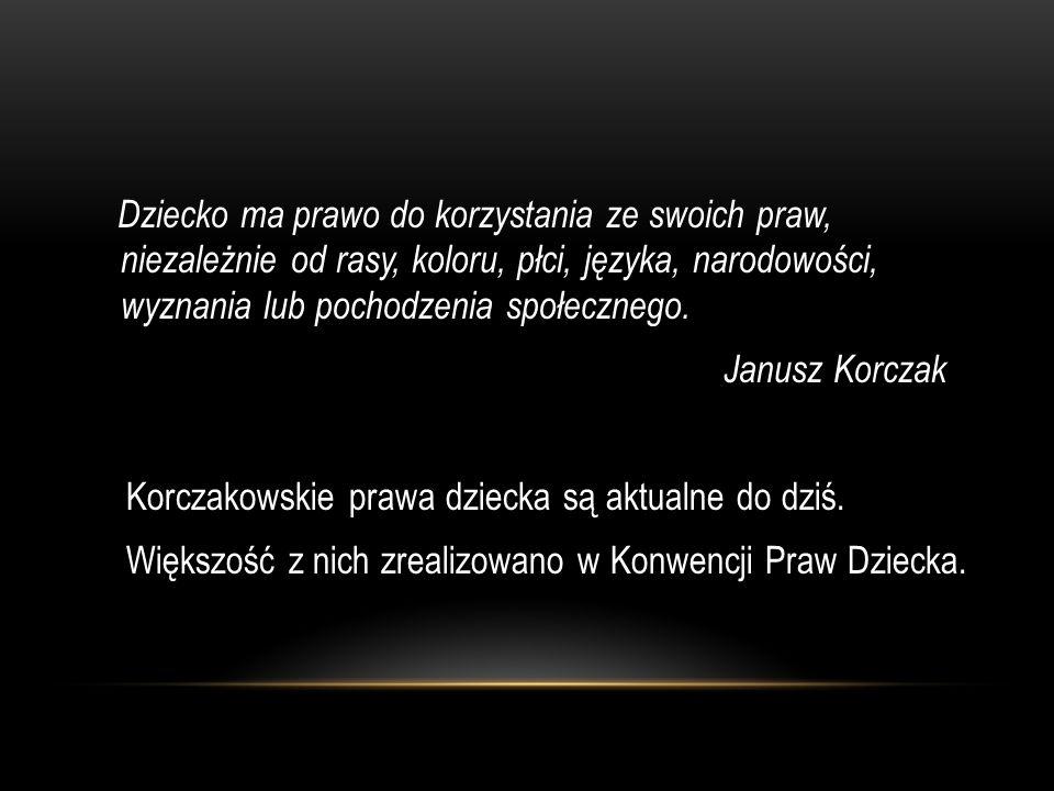 JANUSZ KORCZAK - LEKARZ