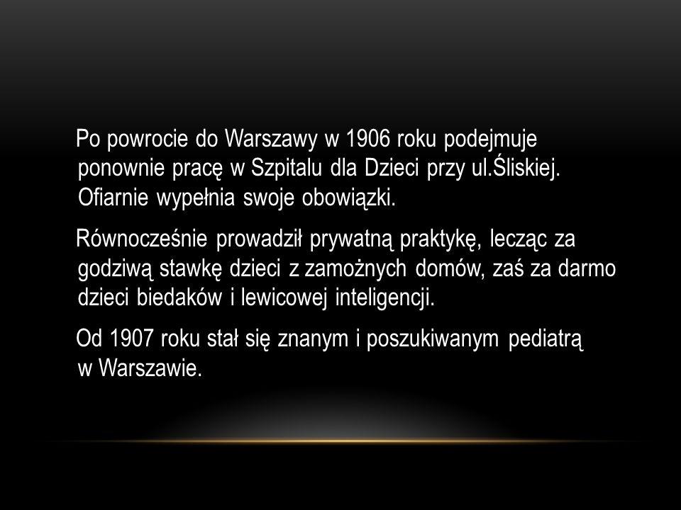 OSTATNIA DROGA STAREGO DOKTORA Kadr z filmu Korczak Andrzeja Wajdy.