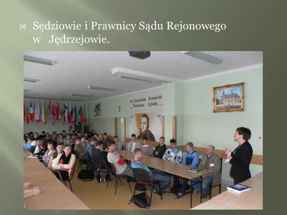 Sędziowie i Prawnicy Sądu Rejonowego w Jędrzejowie.