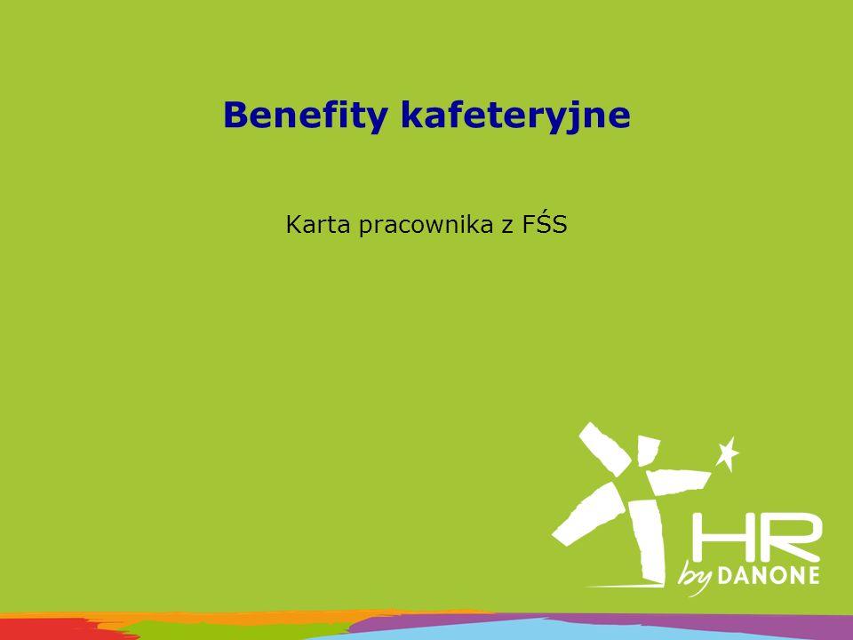 Benefity kafeteryjne Karta pracownika z FŚS