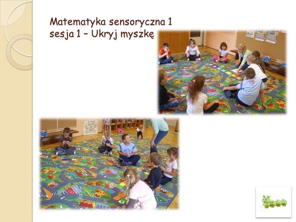 Matematyka sensoryczna 1 sesja 22 – Rodziny Figur- trójkąty, kwadraty, prostokaty