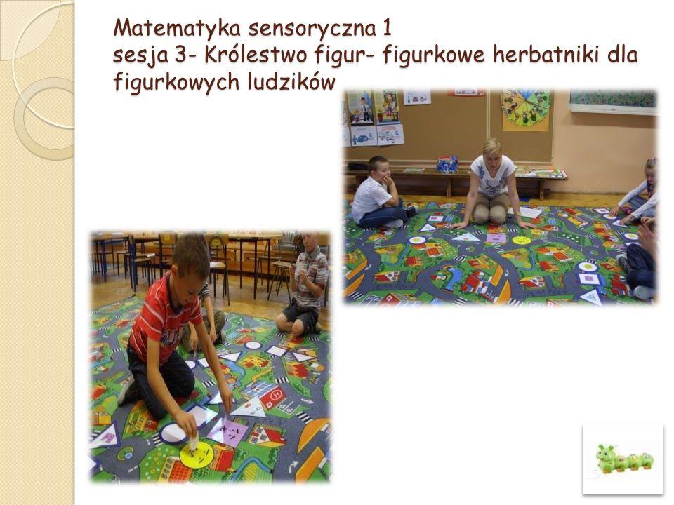 Matematyka sensoryczna 1 sesja 19 – Choinka