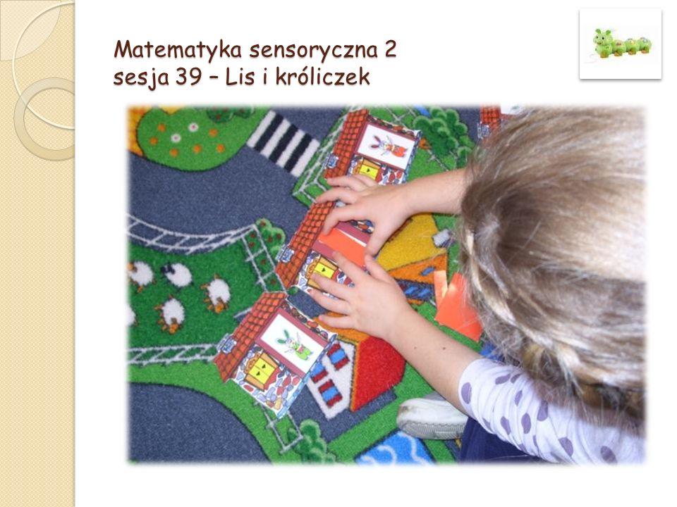 Matematyka sensoryczna 2 sesja 39 – Lis i króliczek
