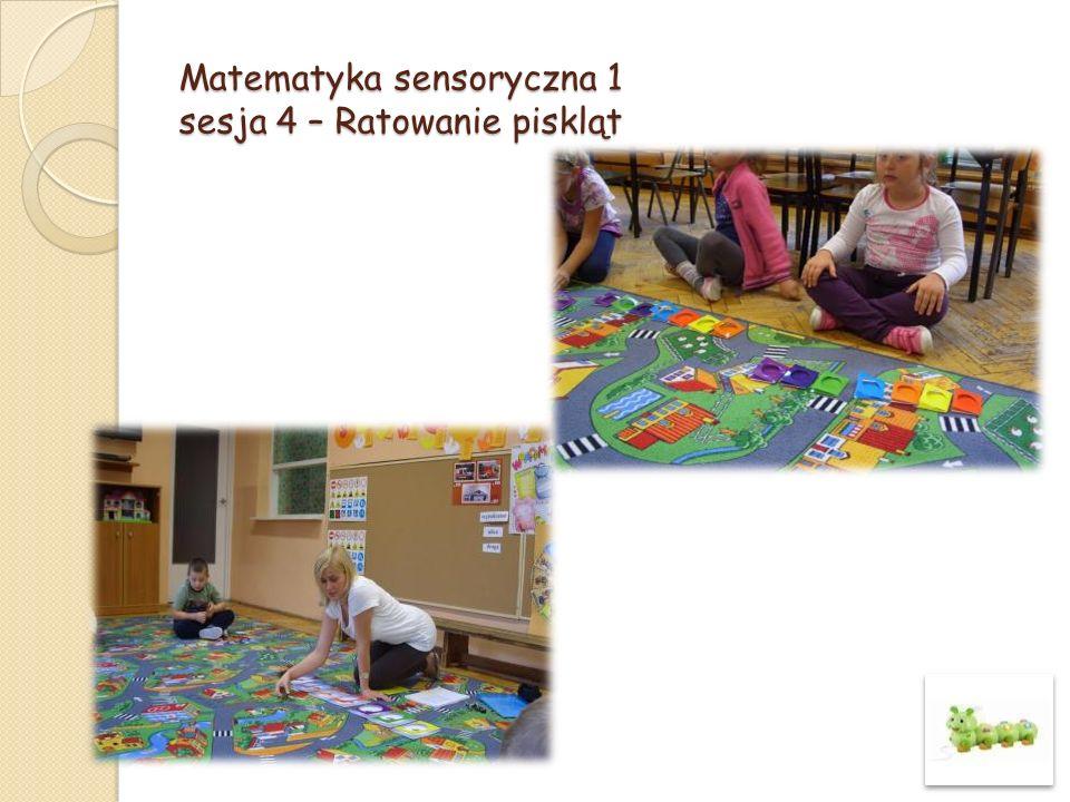 Matematyka sensoryczna 1 sesja 10 – Zabawa w chowanego