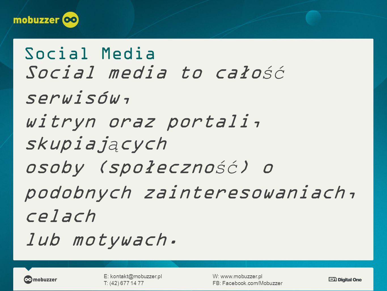 Outsourcing zadaniowy E: kontakt@mobuzzer.plW: www.mobuzzer.pl T: (42) 677 14 77FB: Facebook.com/Mobuzzer PlusyMinusy Osobisty kontakt z fanami Wszystkie informacje Szybkość reakcji Duży wpływ na treści i aplikacje Bardzo wysoki koszt Ogrom informacji Absorbuje dużo czasu Wielu podwykonawców