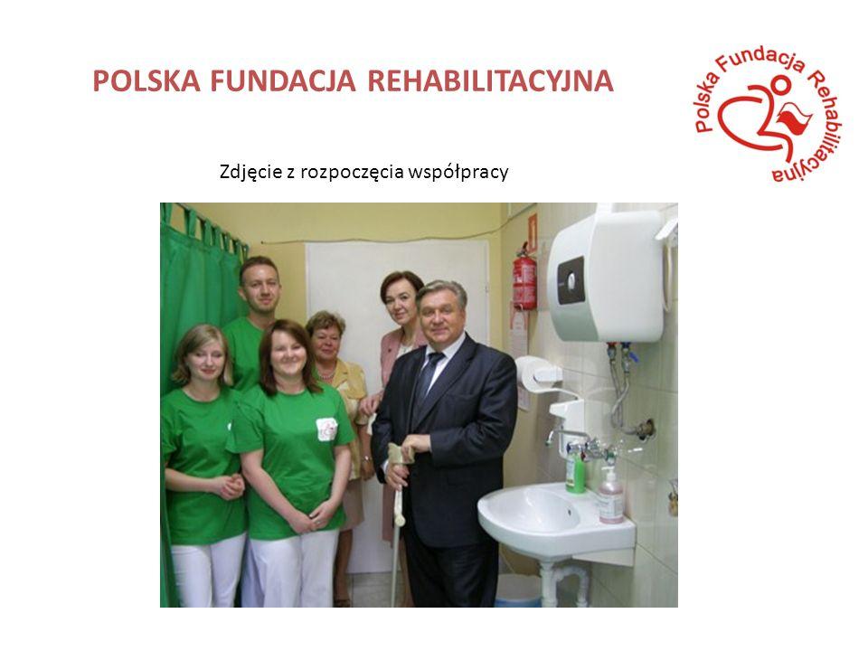 POLSKA FUNDACJA REHABILITACYJNA Zdjęcie z rozpoczęcia współpracy