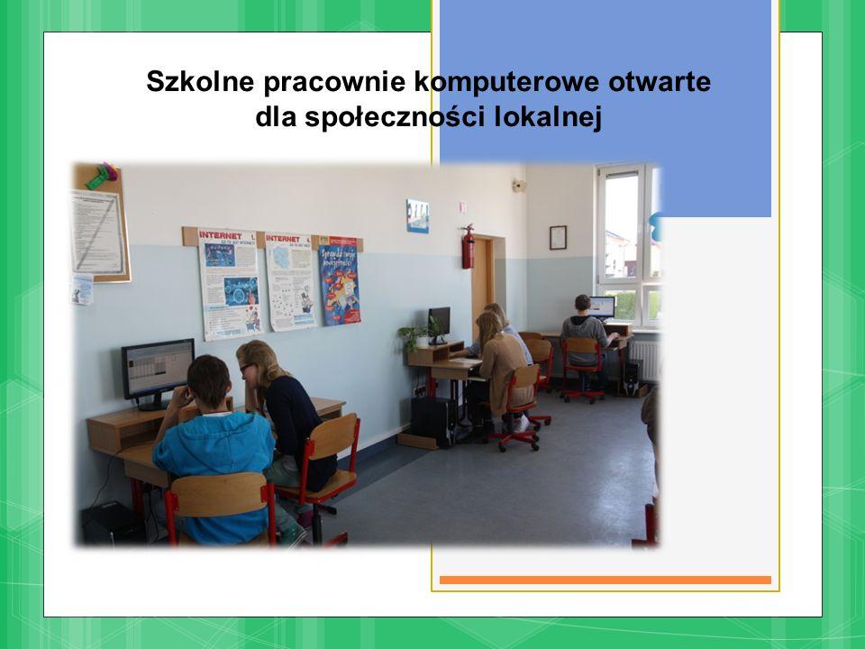 Szkolne pracownie komputerowe otwarte dla społeczności lokalnej