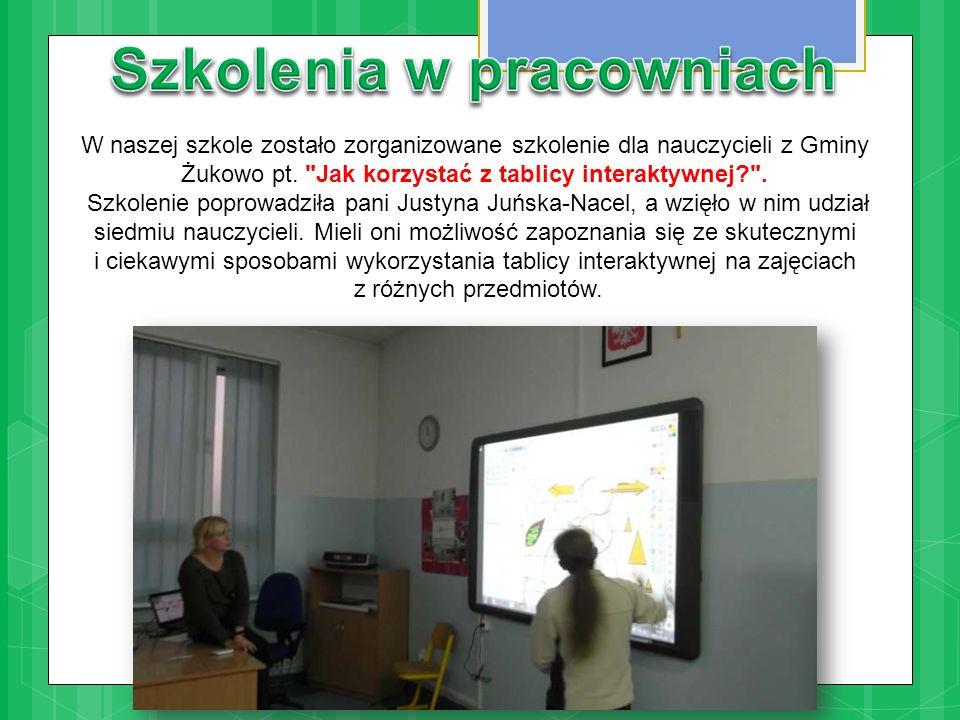 W naszej szkole zostało zorganizowane szkolenie dla nauczycieli z Gminy Żukowo pt.