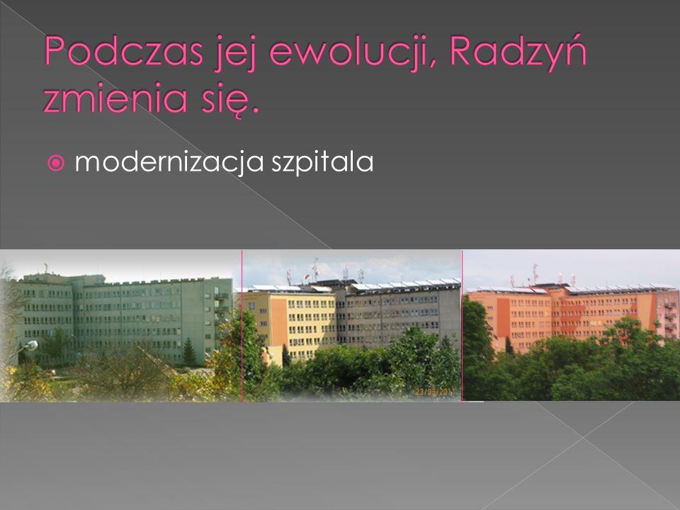 modernizacja szpitala