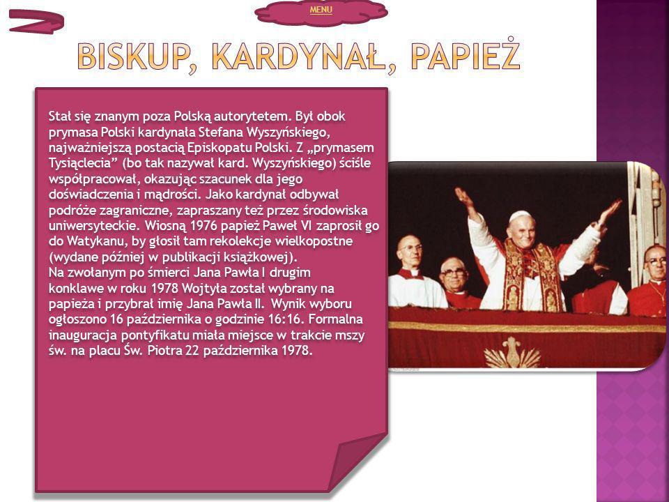 Stał się znanym poza Polską autorytetem. Był obok prymasa Polski kardynała Stefana Wyszyńskiego, najważniejszą postacią Episkopatu Polski. Z prymasem