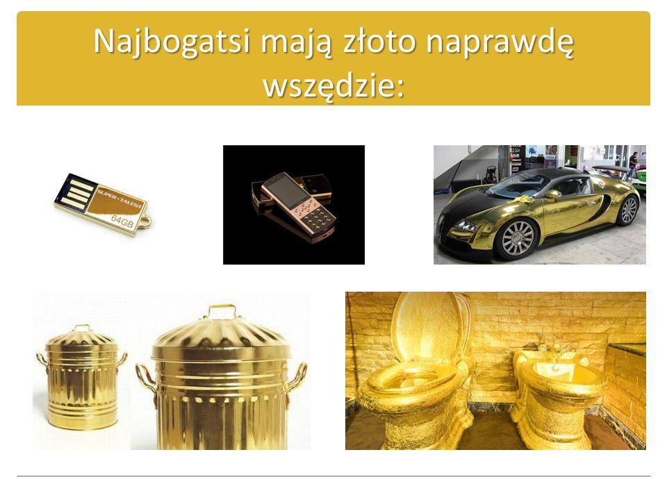 Złoto – Święty Graal networku Koniecznym jest uchwycenie kilku szczegółów: 1.