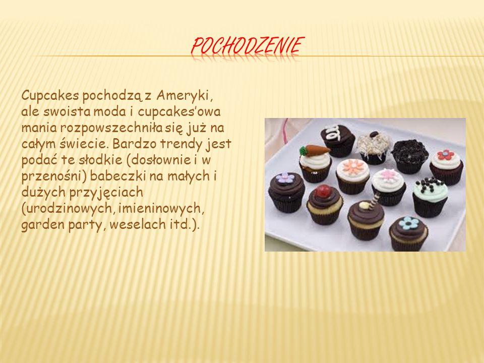 Nazwa cupcake pochodzi od angielskiego cake (ciasto) i cup (kubek), jako skrót od teacup (filiżanka), ponieważ jest jej rozmiarów.