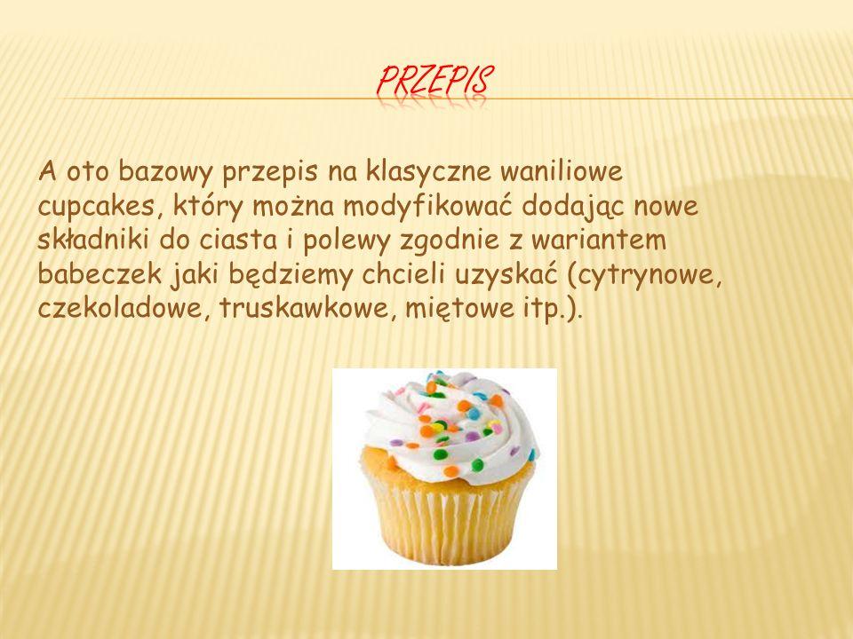Cupcakes znalazły także swoje miejsce w świecie mody i trendy gadżetów, a to za sprawą kultowego serialu Sex in the city, gdzie bohaterki telewizyjnej