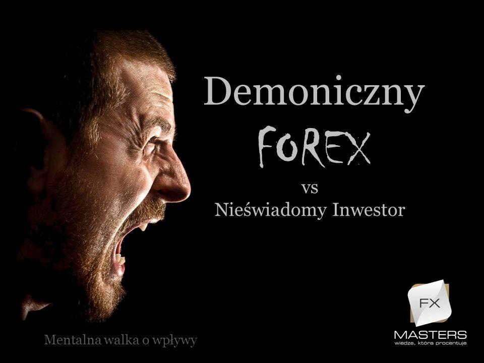 Demoniczny FOREX vs Nieświadomy Inwestor Mentalna walka o wpływy
