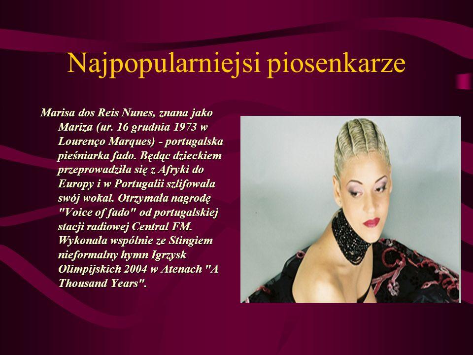 Najpopularniejsi piosenkarze Teresa Salgueiro (ur.