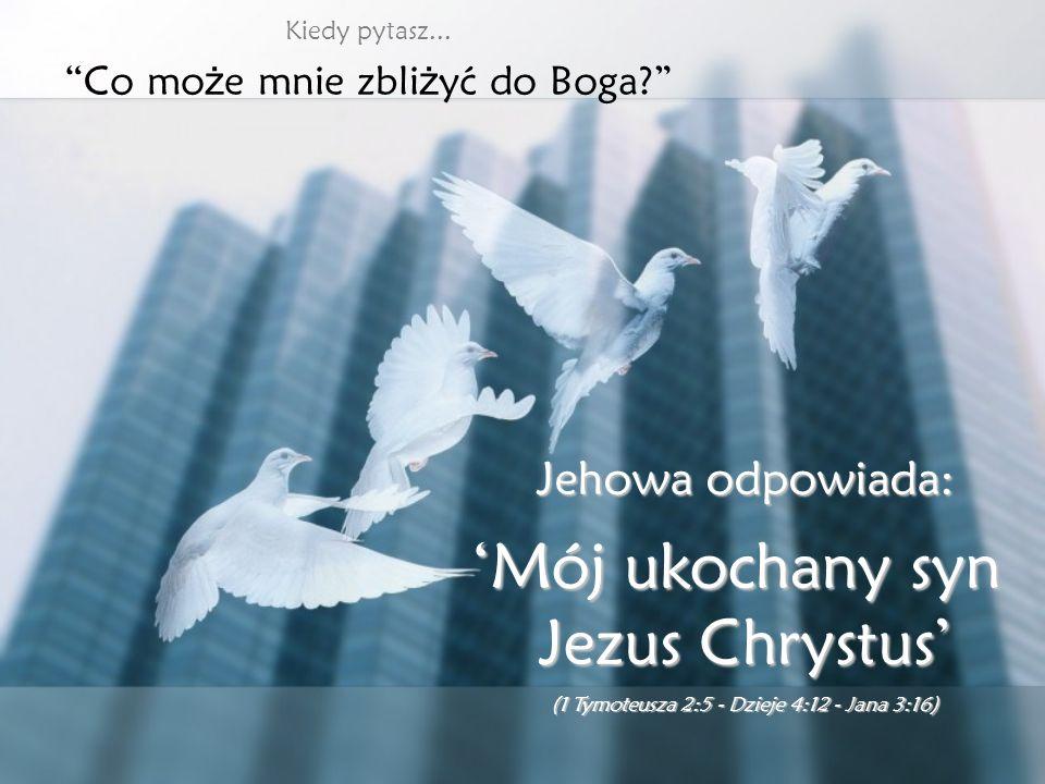 Kiedy mówisz: Nie wiem, któr ę dy mam i ś ć...Nie wiem, któr ę dy mam i ś ć... Jehowa mówi: Ja wska żę Ci drog ę Ja wska żę Ci drog ę (Izajasza 42:16)