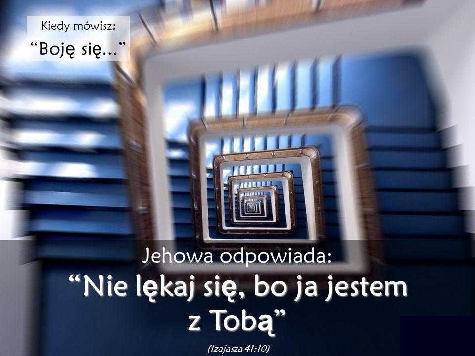 Gdy uwa ż asz: Nie zasługuj ę na wybaczenie... Jehowa mówi: Wybacz ę Ci (1Jana 1:9 – Rzymian 8:1)