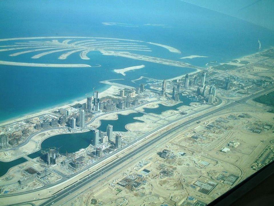 Wszystko jest w ostatnim czasie wybudowane, specjalnie sztuczne wyspa w formie palmy.