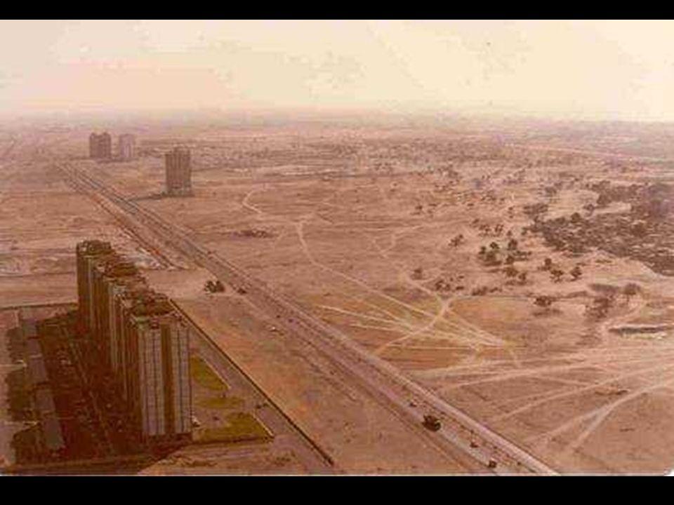 Dubai 1990, przed zwariowanyn wyścigiem...