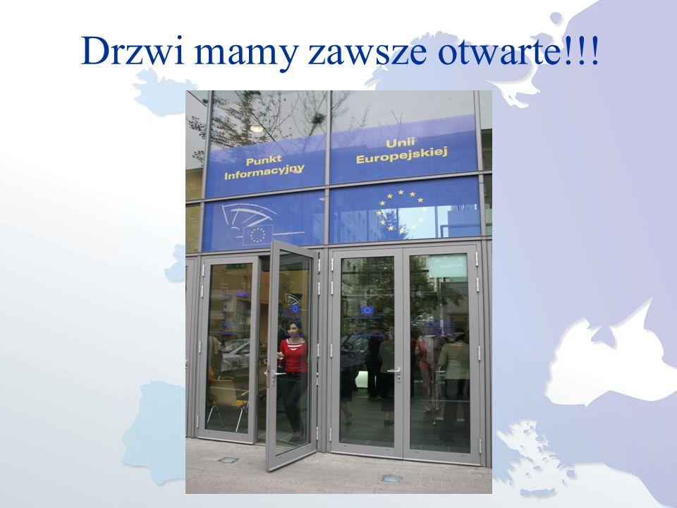 Drzwi mamy zawsze otwarte!!!